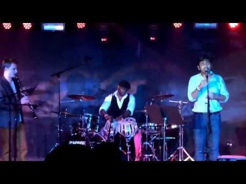 O Re Piya / Rolling in the Deep Shankar Tucker ft. Rohan Kymal Live Webster hall