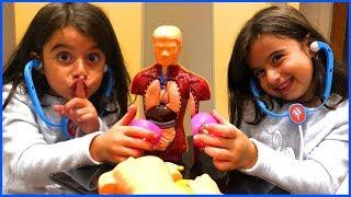 Çılgın Profesör Oyuncağı Açtık, Organlarımızı İnceledik Öğrendik l Oyuncak Açma l Rüya