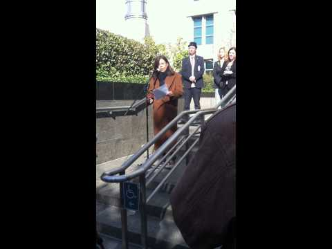 Betty Yee Speaks About Medical Cannabis In Sacramento, CA - 11/09/11