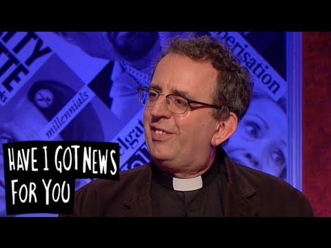 Rev Richard Cole's Swedish Sauna - Have I Got News For You