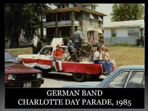 Charlotte, Iowa - Then & Now