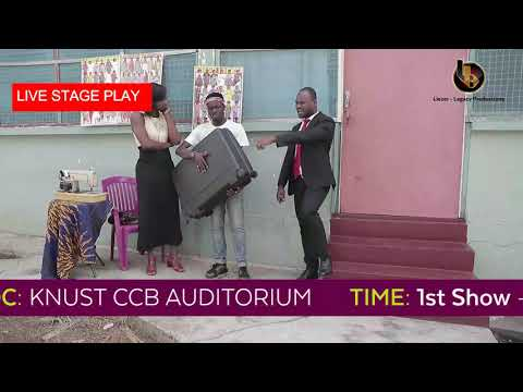 Only In Africa - Hillarious Stage Play This Sunday at CCB Auditorium, KNUST