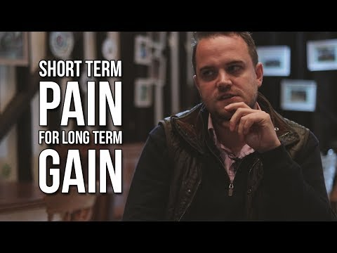 Short Term Pain for Long Term Gain | Backstage Business 089