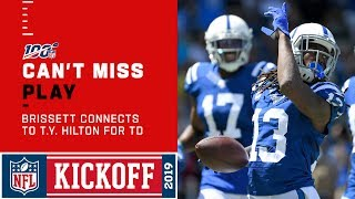 Jacoby Brissett Slings It to T.Y. Hilton for the TD