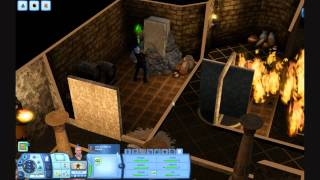 The Sims 3 Gameplay - Exploring the Great Pyramid part 1