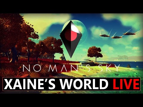 No Man's Sky with Xaine's World Live #3 Galactic Scale Travel