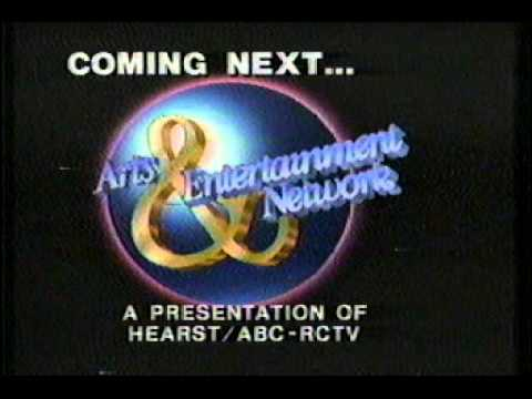 Nickelodeon sign off (1984) into Arts & Entertainment Network