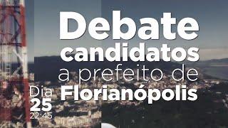 Baixar RICTV realiza debate com candidatos a prefeito de Florianópolis
