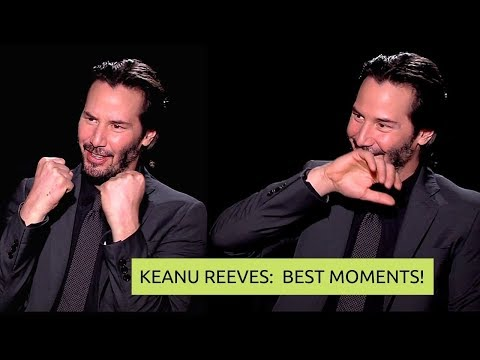 KEANU REEVES (cutest) MOMENTS ★ LOVE, ACTION, AGE (MATRIX & JOHN WICK) (2019)