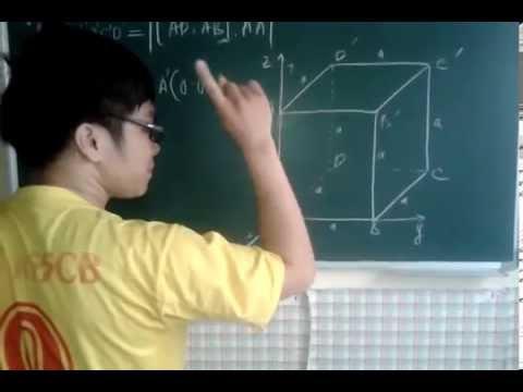 Giải Bài toán Hình học  không gian  bằng phương pháp Tọa Độ Hóa !
