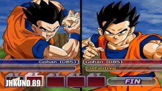 GOHAN BASE TEAM vs GOHAN DEFINITIVO TEAM | DRAGON BALL Z BUDOKAI TENKAICHI 3