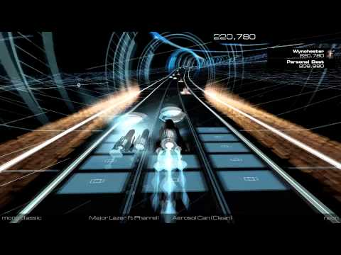 Aerosol Can (Clean) - Major Lazer ft. Pharrell (Audiosurf 2)