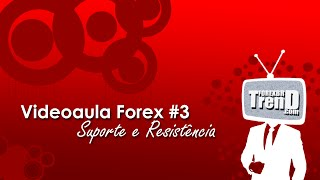 TrendForexBR - Videoaula #3: Suporte & Resistência