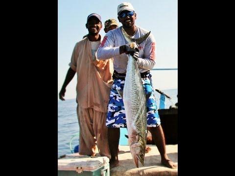 KARACHI FISHING 2012 - KINGFISH & MILKFISH ( Go Pro HD Hero 2 )