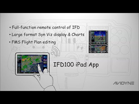 IFD100 App for the Avidyne IFD Series
