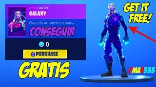 How to get the Skin Galaxy for FREE Fortnite Battle Royale 100% LEGAL