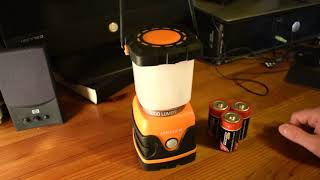 Review: Meikee Camping Lampe 1000 LM
