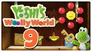 Let's Play YOSHI'S WOOLLY WORLD Part 9: Juli stößt mich in Lava & epische Pyromide!