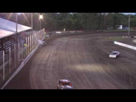 Heavy hit for Joel Norris -- 6/23/17 -- Rapid Speedway