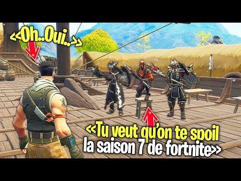 """Les faux """"CRÉATEURS"""" de """"FORTNITE"""" me spoil la prochaine """"SAISON"""" de Fortnite..."""
