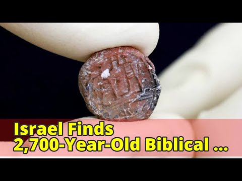 Israel Finds 2,700-Year-Old Biblical 'Governor of Jerusalem' Seal