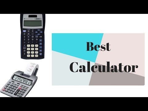 Best Calculators- Top scientific calculators 2017