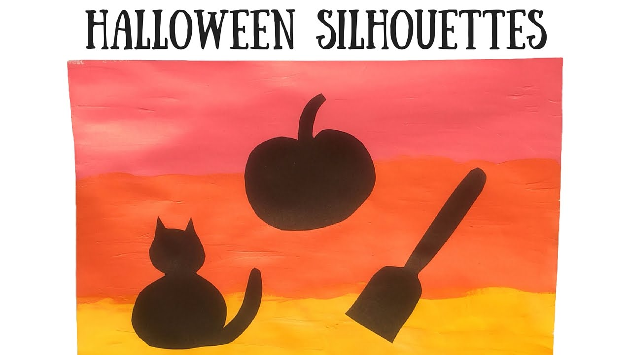 Halloween Silhouettes - YouTube