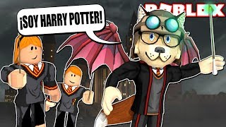 ESCAPE FROM the COLLEGE of MAGIA 🧙 ♂️ (Am I Harry Potter?) - ROBLOX