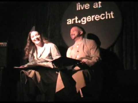 Meystersinger, Berlin-Club art.gerecht, Interview, Konzert, Lesung