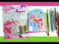 My little pony Activity Book MLP coloring pages for kids Colouring set