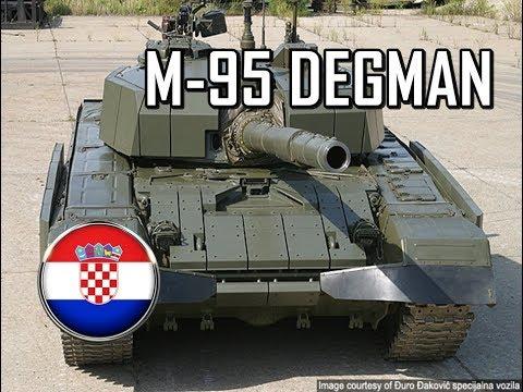 M-95 Degman-Hrvatski glavni borbeni tenk