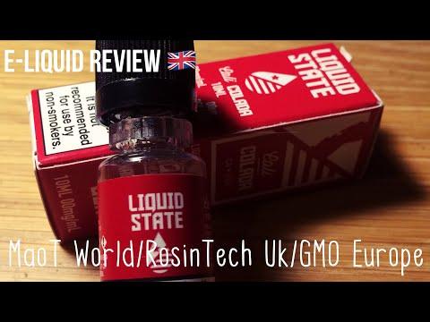 E-Liquid Review: Cali Colada by LIQUID STATE!!! - YouTube