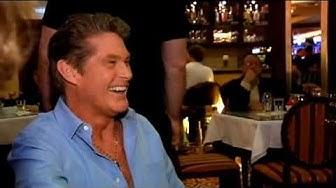 David Hasselhoff im Casino 10.2.2010