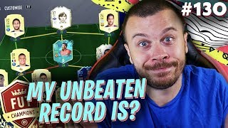 FIFA 20 THIS IS WHAT HAPPENED TO MY INSANE UNBEATEN FUT CHAMPIONS PERFORMANCE!