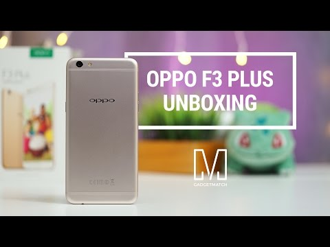 Thumbnail: OPPO F3 Plus Unboxing