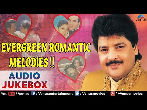 Udit Narayan : Evergreen Romantic Melodies |  Hindi Songs | 90's Bollywood Romantic Songs | JUKEBOX