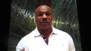Mike Tyson Confims He's Tarining Chris Brown Rips Souldja Boy For Biting Ear Comment EsNews Boxing