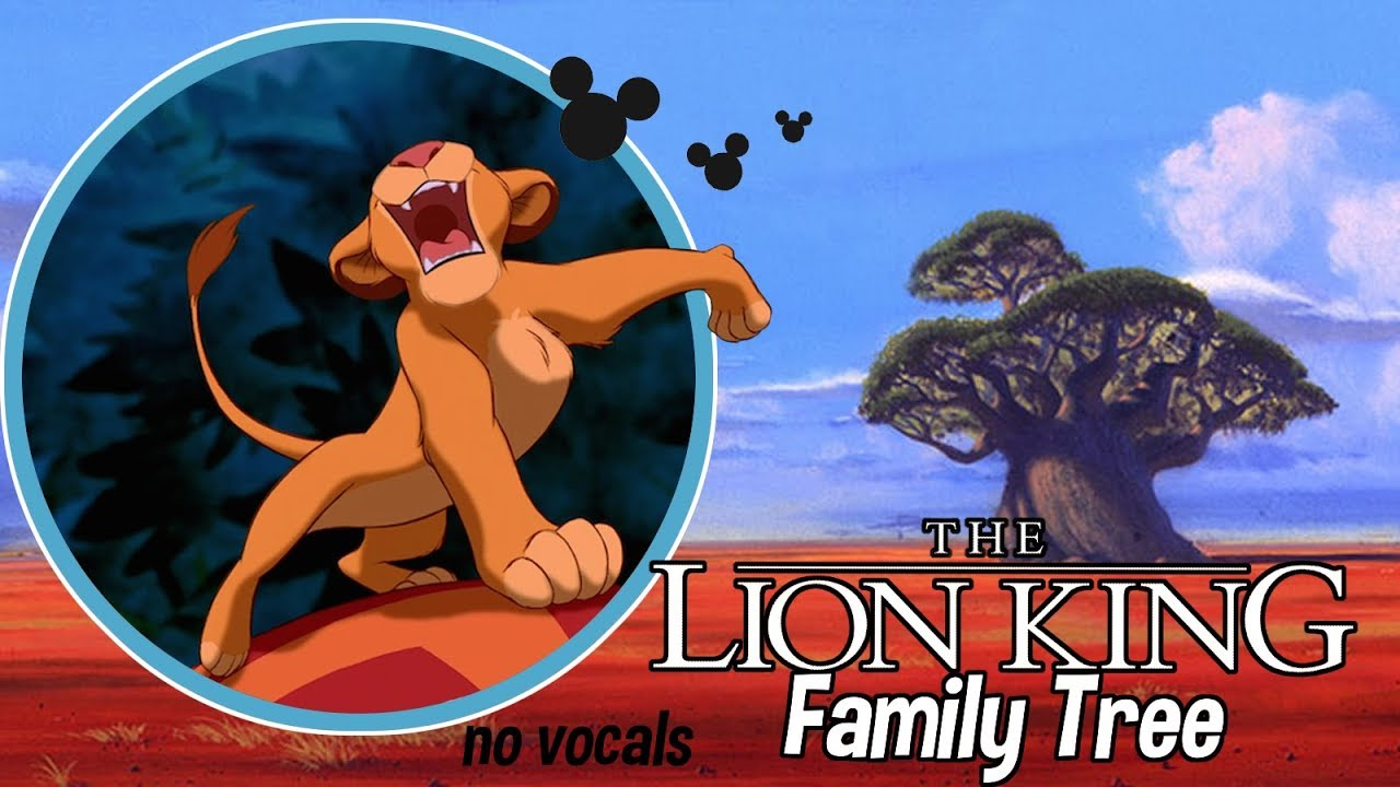 The Lion King Family Tree No Vox Youtube