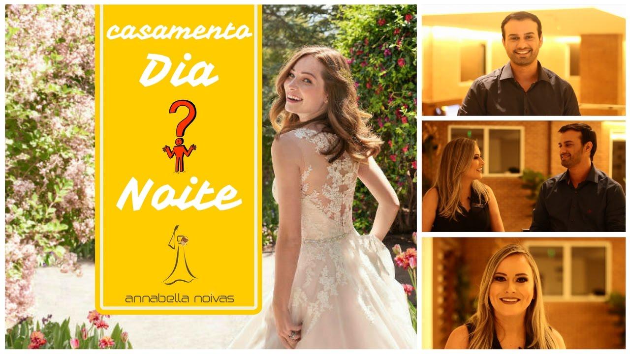 5e7a39f5d819 Vestidos de Noiva para casamento de DIA ou de NOITE? Annabella Noivas    Entrevista Jaqueson Queiroga