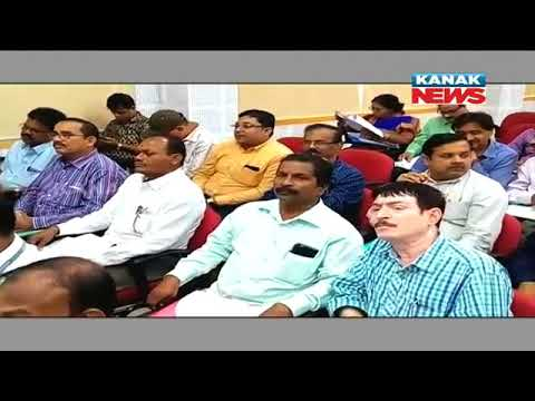 Review Meet In Cuttack For Paddy Procurement