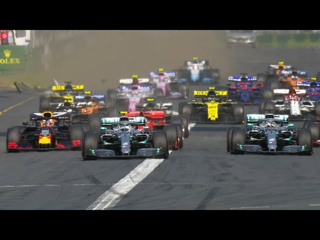 2019 Australian Grand Prix: Bottas Flies, Ricciardo Collides On Opening Lap