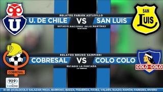 [LA PREVIA] #ConclaveCampeonato FECHA 15 | U de Chile vs San Luis / Cobresal vs Colo Colo