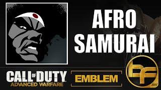 Advanced Warfare Emblem #55 - Afro Samurai