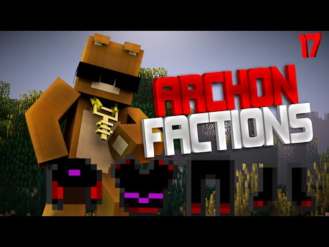 Minecraft FACTiONS ARCHON GOLD - MAKiNG OUR SECOND GOD SET - EP - 17