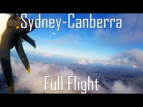 FULL FLIGHT | Sydney To Canberra | ATR72 | Virgin Australia | VA652