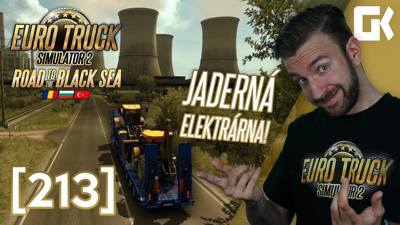 JADERNÁ ELEKTRÁRNA! | Euro Truck Simulator 2 #213