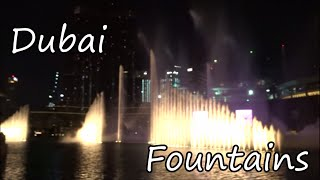 The Dubai Fountain / The World's Largest Fountain Show
