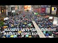 Anti-government protesters flock to Hong Kong park for major rally