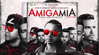 Amiga mia - El Roockie - REMIX feat. Zion & Lenox, J Quiles, Alkilados