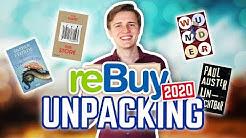 rebuy UNPACKING (So viele neue Bücher!) April 2020   Henjos Buchleben
